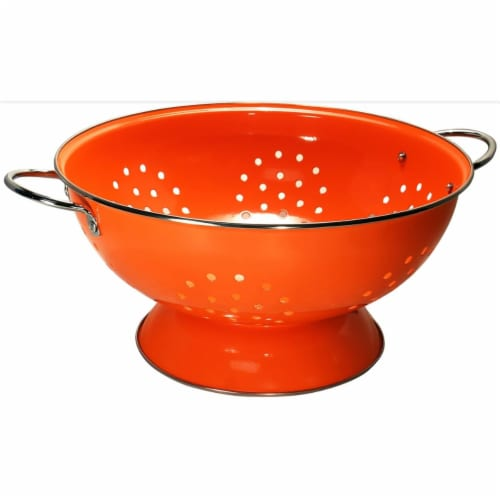 Reston Lloyd 89500 Orange - 7 Qt Colander Perspective: front