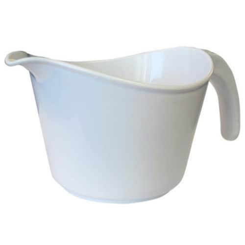 Reston Lloyd 92300 Calypso Basics 2 Quart Microwave Batter Bowl - Orange Perspective: front
