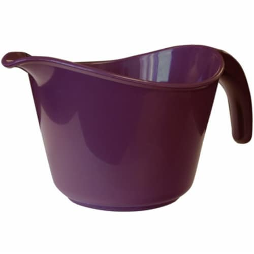 Reston Lloyd 92502 Calypso Basics 2 Quart Microwave Batter Bowl - Plum Perspective: front