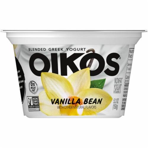 Oikos® Vanilla Blended Greek Yogurt Perspective: front