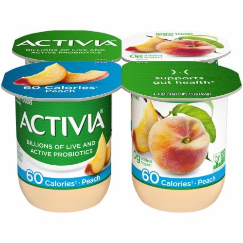 Dannon Activia Light Peach Yogurt