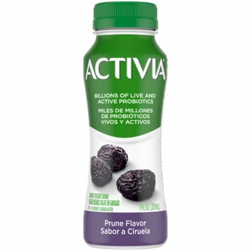 Dannon Activia Prune Yogurt Drink Perspective: front