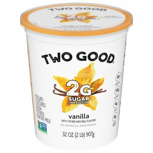 Two Good™ Lowfat Vanilla Greek Yogurt Perspective: front