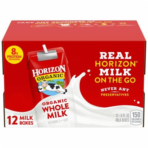 Horizon Organic® Whole Milk Perspective: front