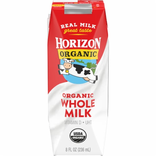 Horizon Organic Whole Milk Perspective: front