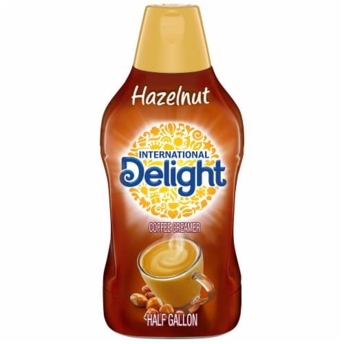 International Delight Hazelnut Coffee Creamer Perspective: front