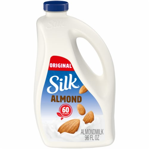 Silk Original Almond Milk Perspective: front
