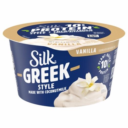 Silk® Greek Style Vanilla Coconut Milk Yogurt Alternative Perspective: front