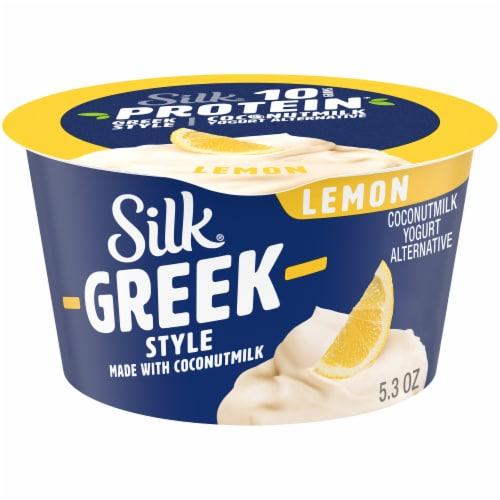 Silk® Greek Style Lemon Coconut Milk Yogurt Alternative Perspective: front