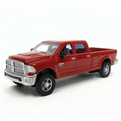 Tomy International 7447089 Toy Dodge Ram 2500 Heavy Duty Laramie - Red Perspective: front