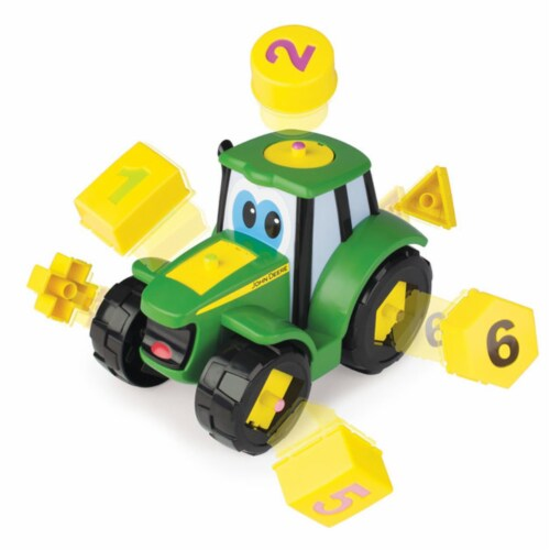 Tomy International 238329 John Deere Learn N Pop Johnny Vehicle Perspective: front
