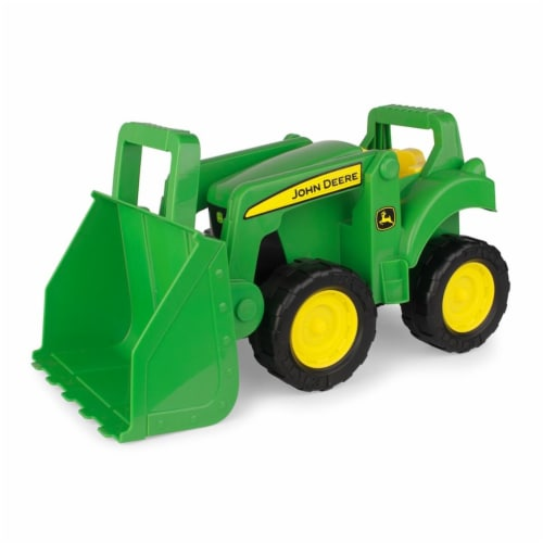 TOMY International 251875 15 in. John Deere Big Scoop Tractor Perspective: front