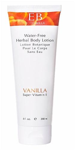 Ecco Bella Herbal Vanilla Body Lotion Perspective: front