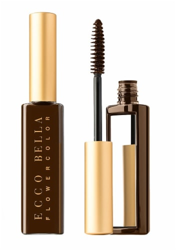Ecco Bella FlowerColor Natural Brown Mascara Perspective: front