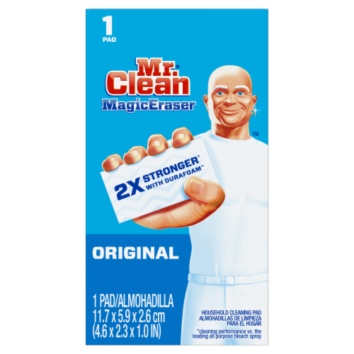 Mr. Clean Magic Eraser Original Household Cleaning Pad Perspective: front