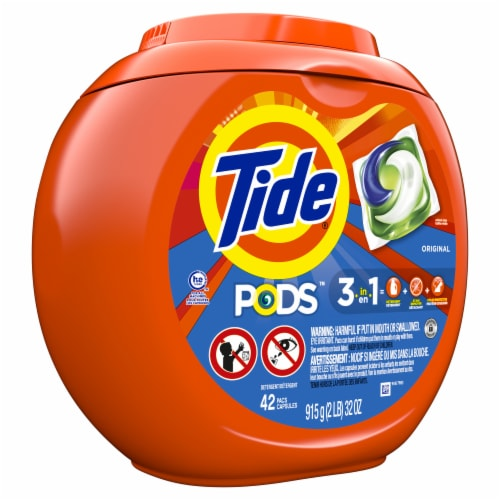 Tide PODS Original 3-in-1 Laundry Detergent Pacs Perspective: front