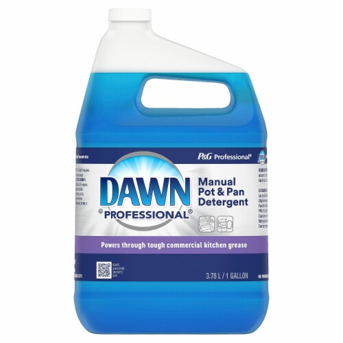 Dawn Professional 1 Gal. Double Cleaning Power Pot & Pan Dish Soap 57445 Perspective: front