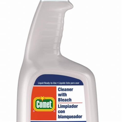 Comet All Purpose Cleaner,32 oz,PK8  02287 Perspective: front
