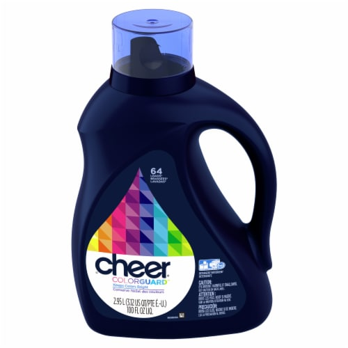 Cheer Colorguard Fresh Clean Scent Liquid Laundry Detergent Perspective: front