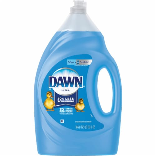 Dawn Ultra Original Scent Dishwashing Liquid Perspective: front