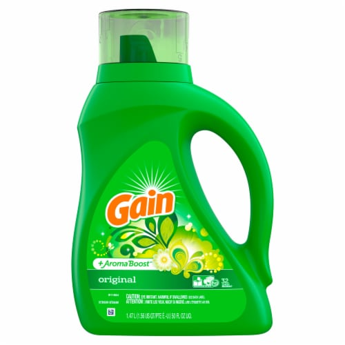 Gain Aroma Boost Original Liquid Laundry Detergent Perspective: front