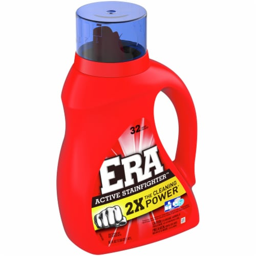 Era 2x Concentrated Liquid Laundry Detergent Perspective: front