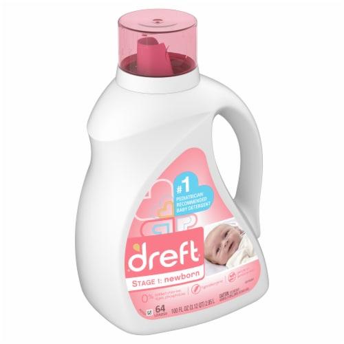 Dreft Stage 1: Newborn Baby Liquid Laundry Detergent Perspective: front