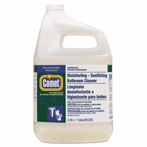 Procter & Gamble 22570EA Disinfectant Bathroom Cleaner, 1 gal. Bottle Perspective: front