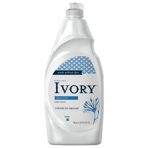 Ivory Classic Scent Concentrated Dishwashing Liquid Perspective: front