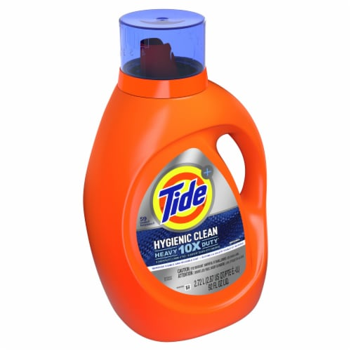 Tide Original Heavy Duty Hygienic Clean Laundry Detergent Liquid Perspective: front