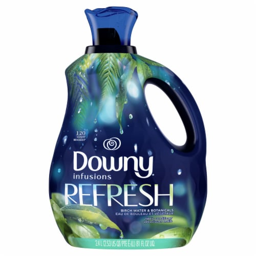 Downy® Infusions Refresh Birch Water & Botanicals Liquid Fabric Conditioner Perspective: front
