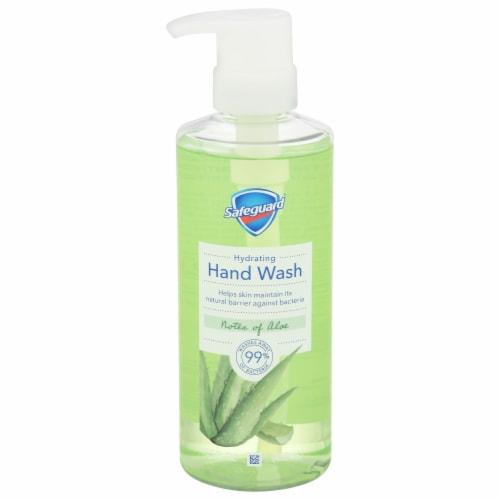 Safeguard Nourishing Aloe Liquid Hand Soap Perspective: front