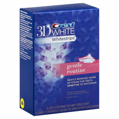 Crest Gentle Routine 3D White Whitestrips Perspective: front