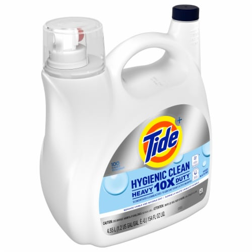 Tide Hygienic Clean Heavy Duty Liquid Laundry Detergent Perspective: front