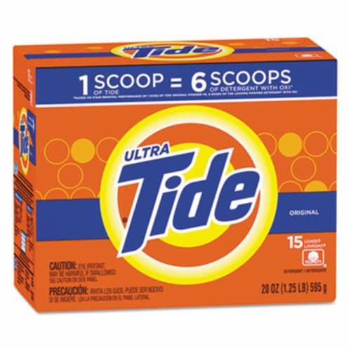Tide Ultra Original Scent Powder Laundry Detergent Perspective: front