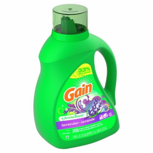 Gain Lavender + Aroma Boost Lavender Liquid Laundry Detergent Perspective: front