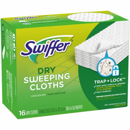 Swiffer Unscented Dry Sweeping Cloth Refills Perspective: front