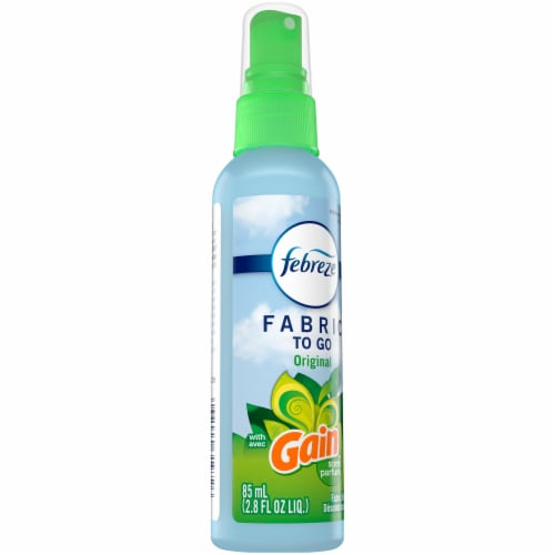Febreze FABRIC To Go with Original Gain Scent Fabric Refreshener Perspective: front