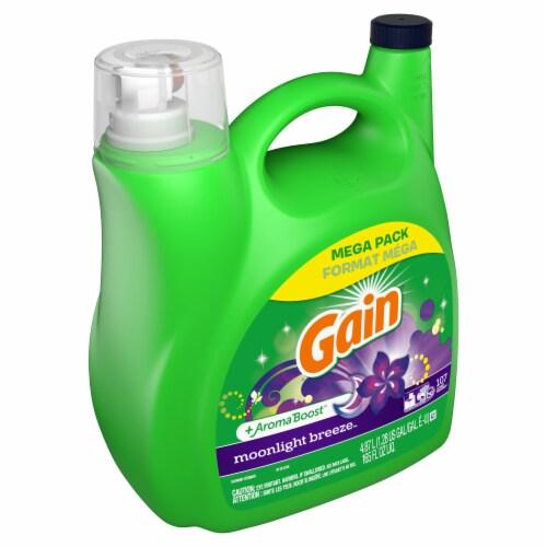 Gain Moonlight Breeze Liquid Laundry Detergent Perspective: front