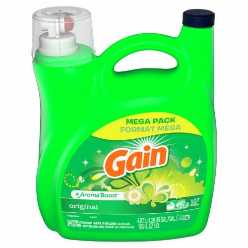 Gain Original Scent Laundry Detergent Liquid Perspective: front