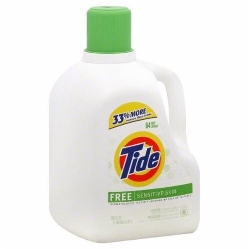 Pick N Save Tide Free Sensitive Skin Liquid Detergent 200 Fl Oz