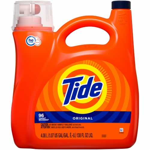 Tide Original Liquid Laundry Detergent Perspective: front