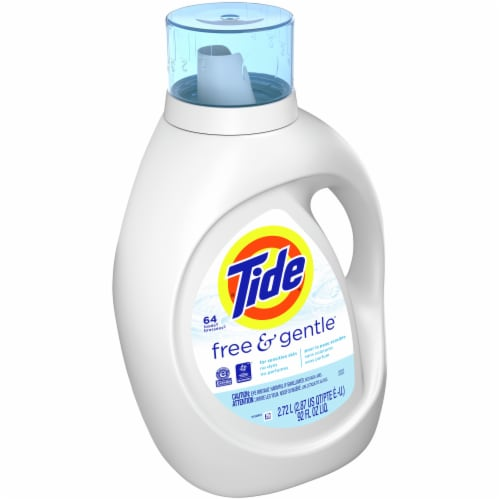 Tide Free & Gentle Liquid Laundry Detergent Perspective: front