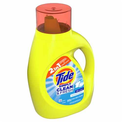 Tide Simply Clean & Fresh Refreshing Breeze Liquid Laundry Detergent Perspective: front