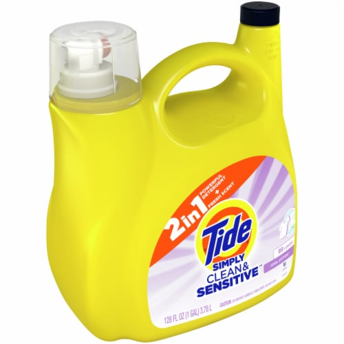Tide Simply Clean & Sensitive Liquid Laundry Detergent Perspective: front
