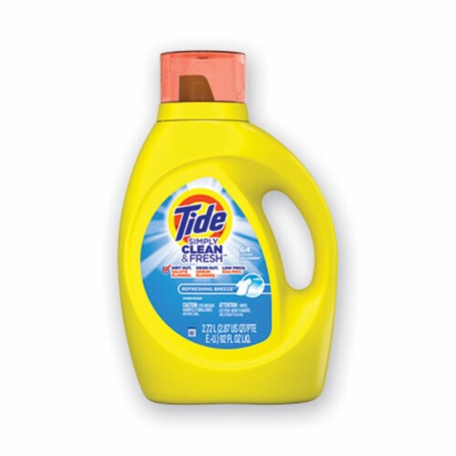 Tide Detergent,Tidesmplyc&f,92 44206EA Perspective: front