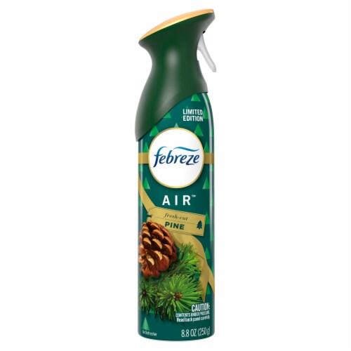 Febreze Air Fresh-Cut Pine Freshening Aerosol Spray Perspective: front
