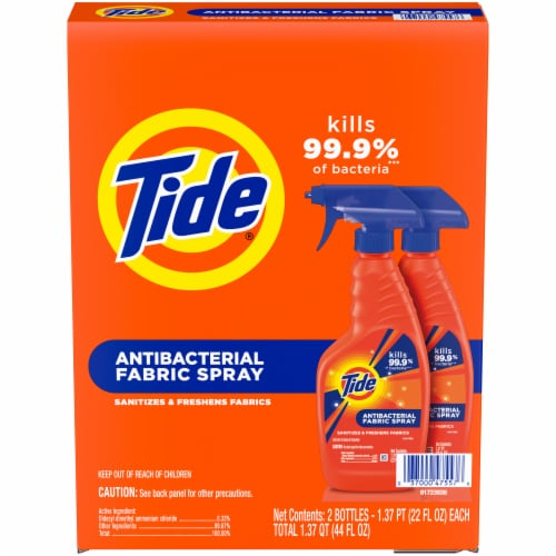 Tide® Antibacterial Fabric Spray Perspective: front