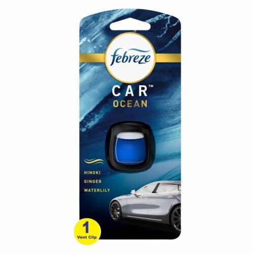 Febreeze Car Ocean Air Freshener Perspective: front