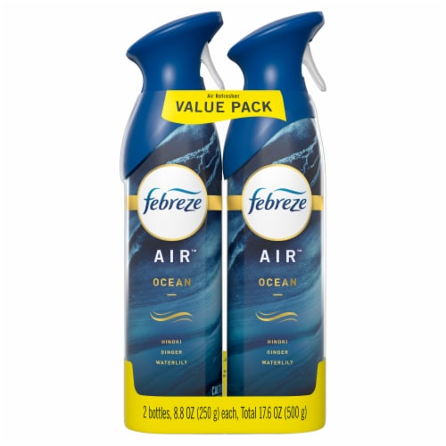 Febreze AIR Ocean Air Refresher Value Pack Perspective: front